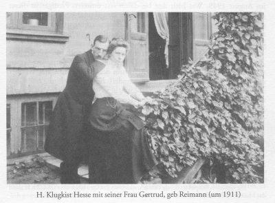 1911 Herr und Frau Hesse